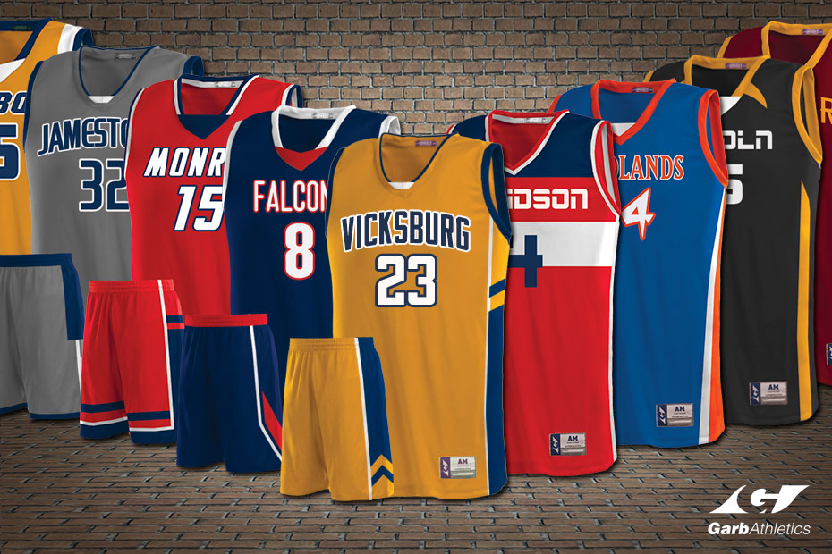 Womens Basketball Uniforms  - just a few out of the hundreds of styles available